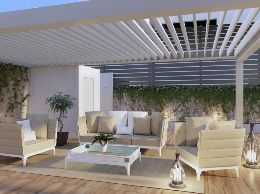 Villetta con piscina fiorenzo interior design for Arredo piscina