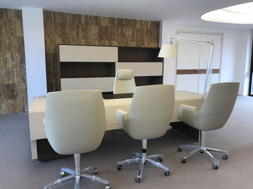 Progetto arredo ufficio libreville fiorenzo interior design for Interior design ufficio